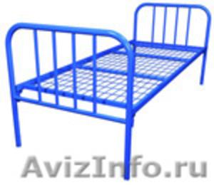 кровати для рабочих, кровати металлические одноярусные и двухъярусные оптом - Изображение #5, Объявление #696174