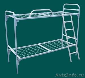 Металлические кровати для пансионата, детских лагерей, кровати армейские. - Изображение #2, Объявление #1480299
