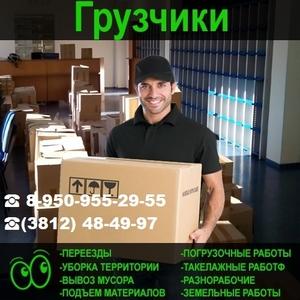 Услуги Аккуратных Вежливых грузчиков 24 часа - Омск - Изображение #1, Объявление #1678350