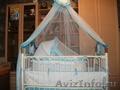 Кроватка для мальчика почти новая