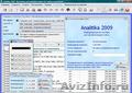 Analitika 2009 - Бесплатное ПО для контроля и анализа деятельности предприятия