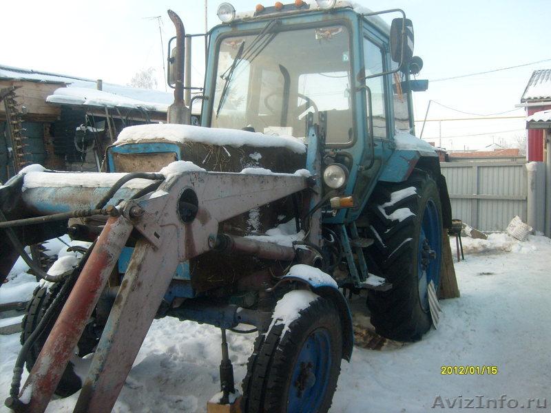 Продам трактор мтз 80 1991 года - МТЗ 80, 1991 - Тракторы.