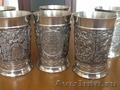 Антикварные стаканы из металла