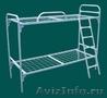 Металлические кровати для пансионата, детских лагерей, кровати армейские., Объявление #1480299